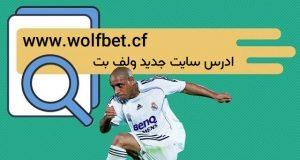 ادرس سایت جدید ولف بت wolfbet